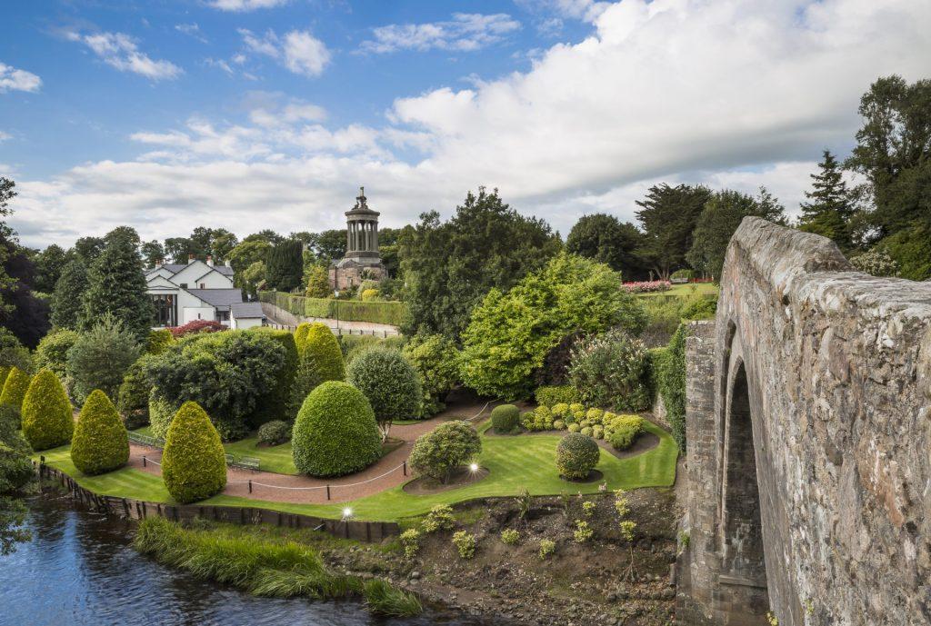 Spring at Brig O' Doon, Ayrshire